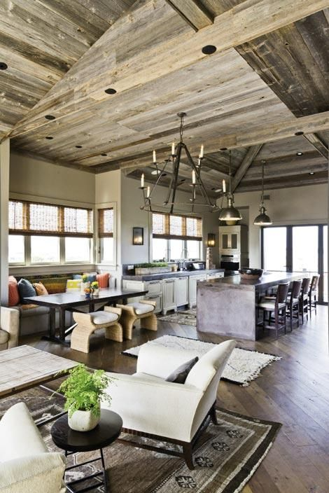 rustic and cozy kitchen