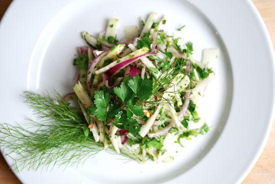 fennel and kohlrabi salad