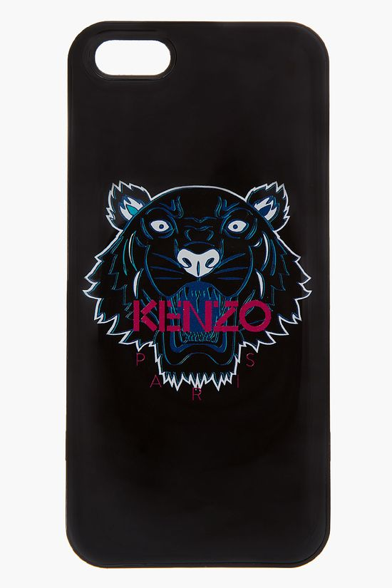 Kenzo Black Tiger Head Iphone 5 Case
