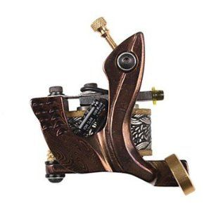 Damascus Handmade Tattoo Machine for Liner by art tattoo. $119.98. Low heating. Excellent stability and feel. Light and quiet .. Made of Damascus steel which is famous for its toughness and resistance to rust. Specifications Type Coil Tattoo Machine  Frame Material Damascus steel  Construction Handmade  Recommended Use Liner and Shader  Coils Dual Coils, 10 Wraps  Input Voltage (V) 110-220V  Working Voltage (V) 5-10V  Starting Voltage (V) 3V  Running Speed (rpm) 6600~720...