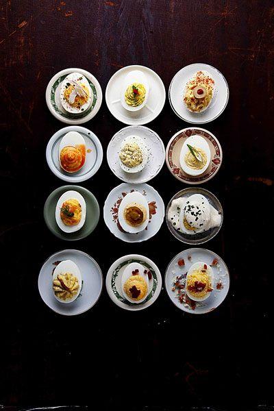 Deviled Eggs by saveur #Eggs