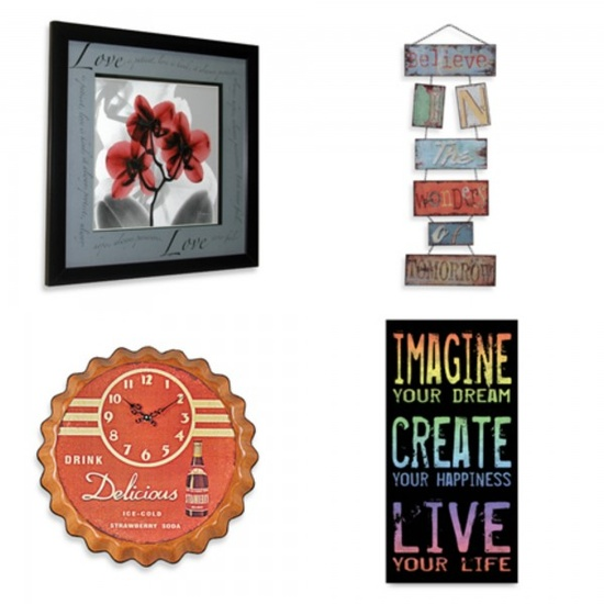 Style Guide: How to decorate with words. #howto #decor