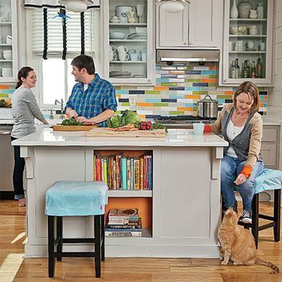 Colorful DIY Kitchen Ideas