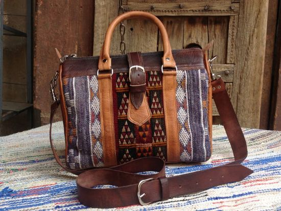 kilim satchel