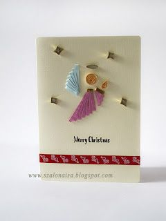 Quilled handmade cards - Szalonaisa's Wonderland: Christmas