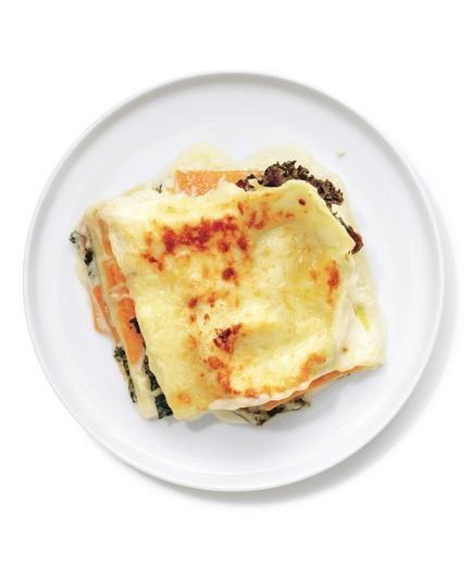 Butternut Squash and Kale Lasagna recipe