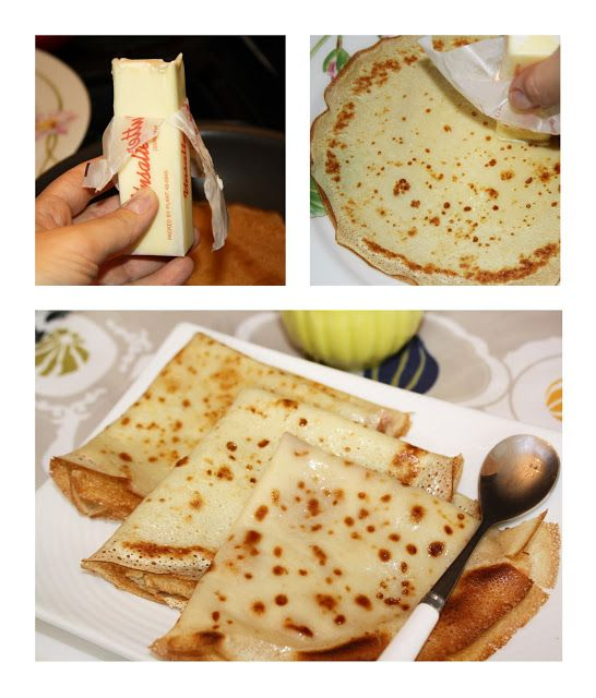 Homemade Crepes Tutorial~~~Remember you can make savory crepes or you can make a dessert crepe! Have fun with your fillings! :)