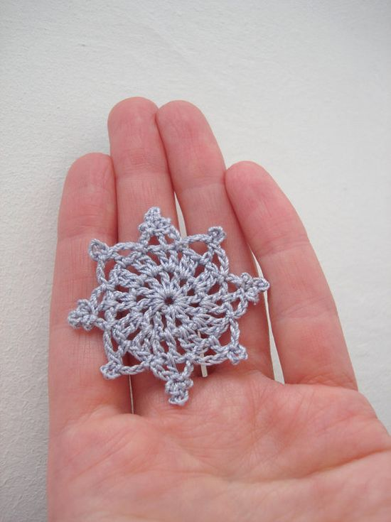 Crochet Snowflakes Christmas Decorations