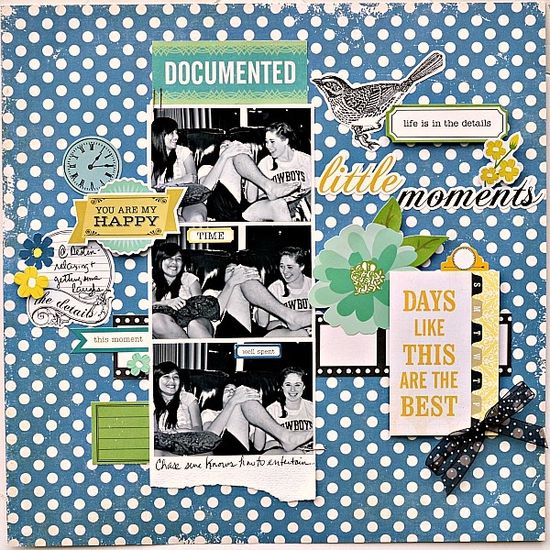 Little moments - Scrapbook.com