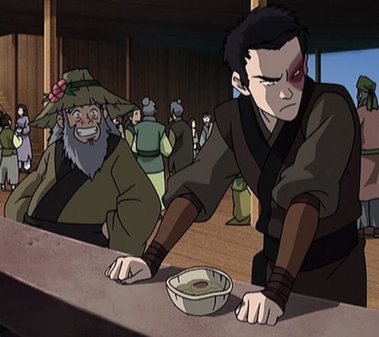 Iroh and Zuko's relationship summed up in one picture hahaha