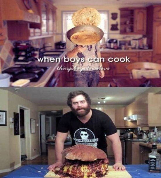 When Boys Can Cook -