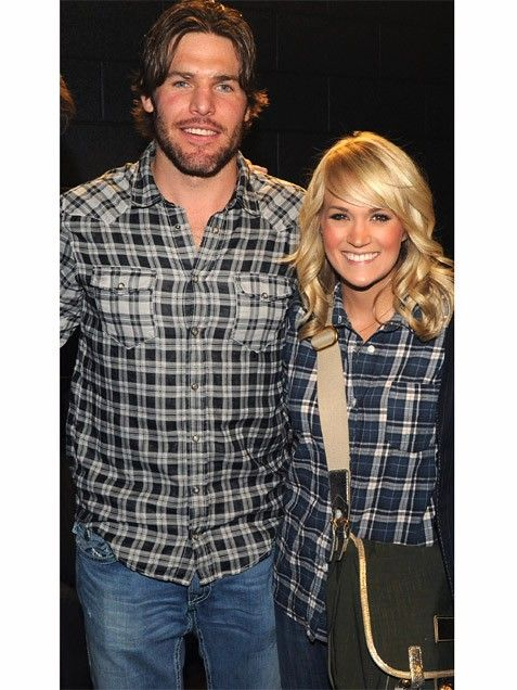 Celebrity Couples Who Dress Alike: Carrie Underwood & Mike Fisher