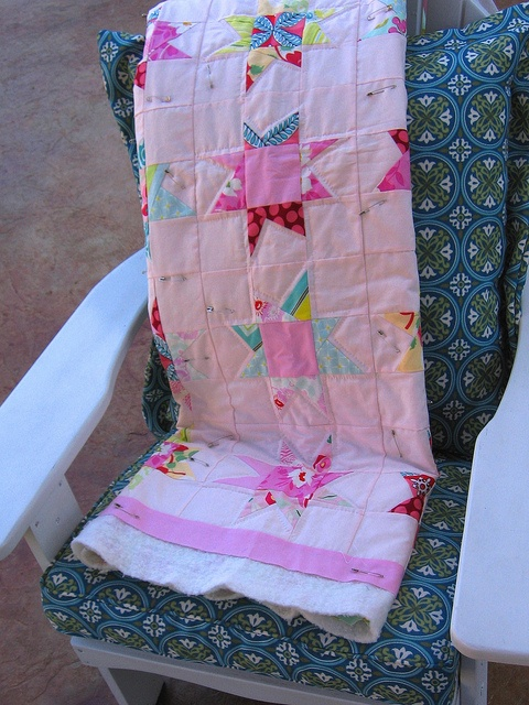 Hand Quilting Front by Katies Modern Nest, via Flickr