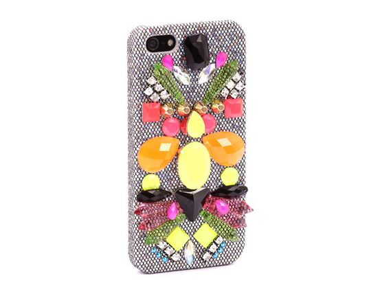 Skinnydip London jewelled phone case