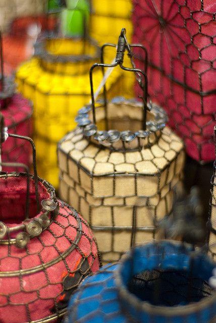 Beautiful outdoor lanterns