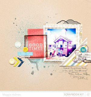 Good Times >> Main Kit Only by maggie holmes > Studio Calico June Kits