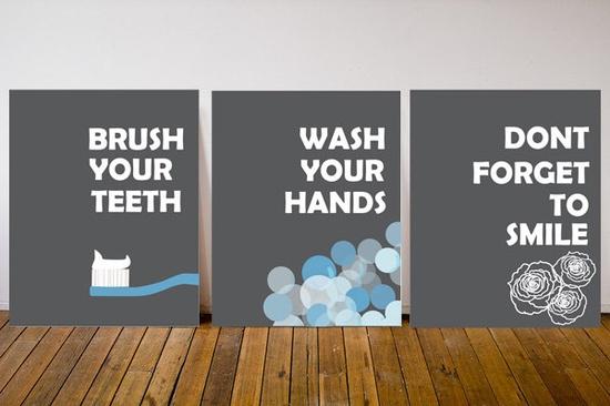 Bathroom decorations? @Ashley Warner