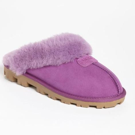 These UGG slippers are the best/coziest things for fall/winter