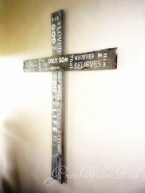 Cross DIY Decor