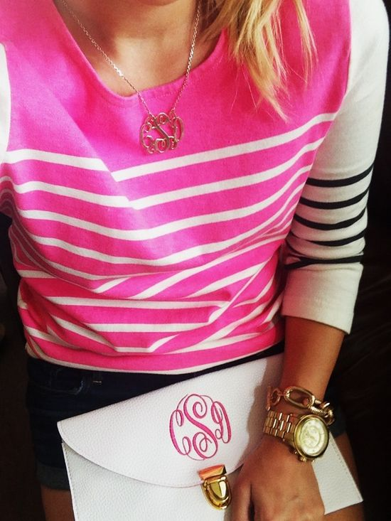 #love #stripes #pink