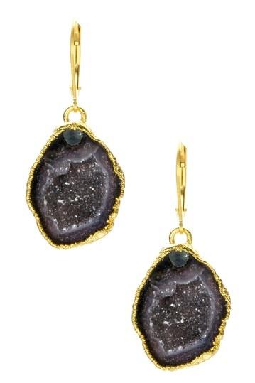 Nina Nguyen Bella Geode Drop Earrings