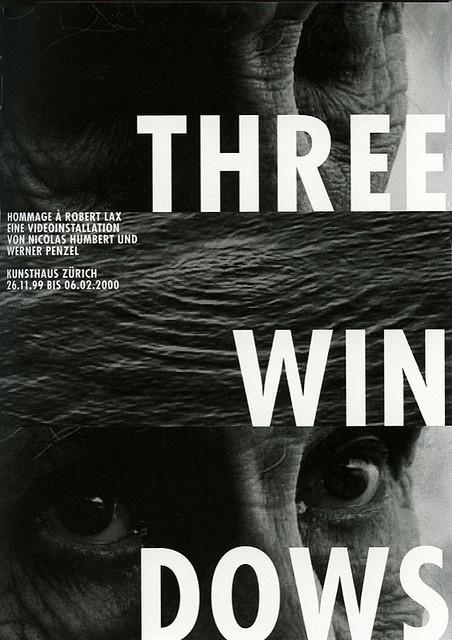 Gerwin Schmidt, Three Windows, 1999