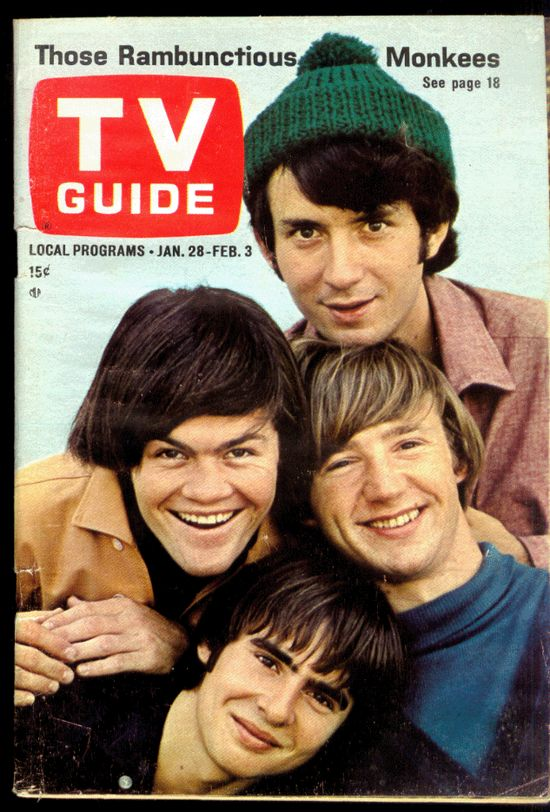 Double duty...The Monkeys and the TV Guide.. Had to have it so you'd know what to watch : )
