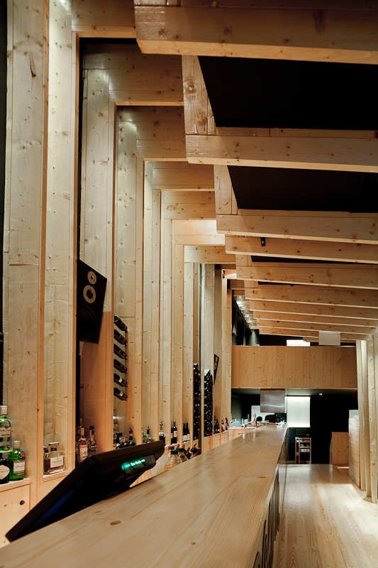 Bar La Boheme, Porto by AVA Architects.