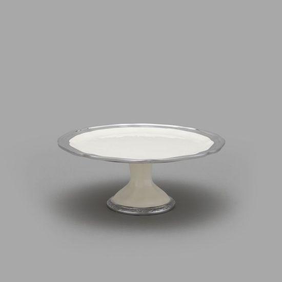 Mikasa Countryside Pedestal Cake Plate
