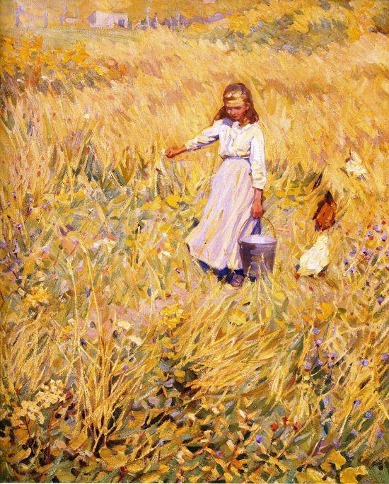 The Little Worker (Helen Galloway McNicoll - )
