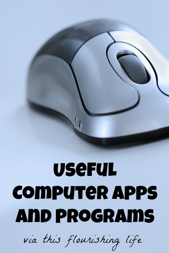 The Most Useful Computer Apps And Programs www.thisflourishi...