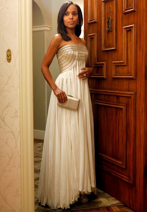 Kerry Washington as Olivia Pope in THAT DRESS  #stillbeyond  #gorgeous