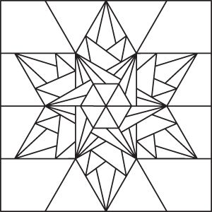 A snowflake quilt has been on my design agenda for some time now. I decided to work on that goal by creating a block for Quiltmaker's 100 Blocks, Volume 2. With