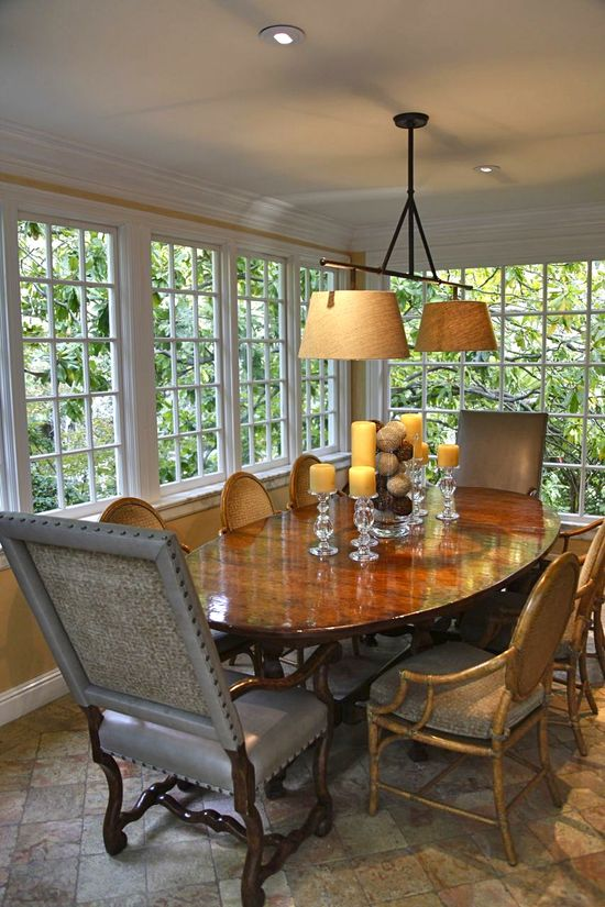 Dining Room designed by Weaver Design Group