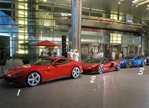 Ferrari vs Lamborghini vs Mercedes Your favorite