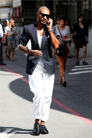 Paris Haute Couture July 2012 - click on the photo to see more street style inspiration on vogue.it