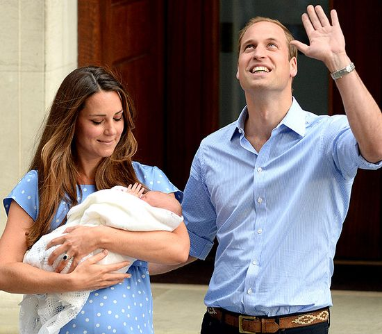 Kate Middleton and Prince William: Meet the Royal Baby!  Read more: www.usmagazine.co...  Follow us: @Us Weekly on Twitter