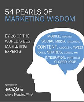 Free Collection: 54 Pearls of Marketing Wisdom