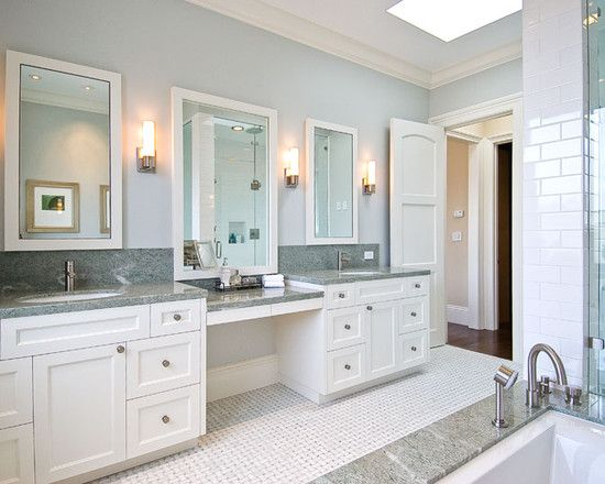 White Gray Bathroom Design, Pictures, Remodel, Decor and Ideas