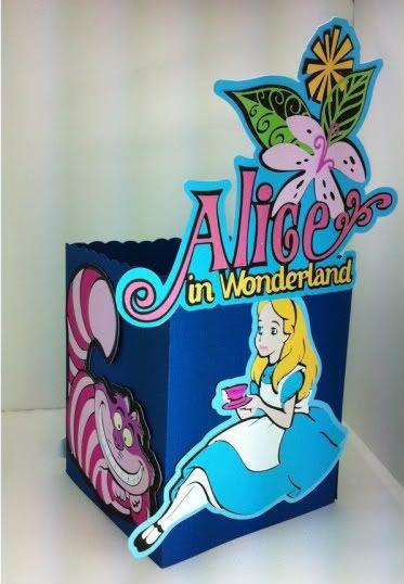Alice in Wonderland #Cricut Project