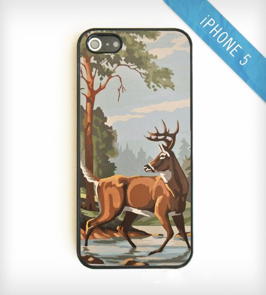 Vintage Paint-By-Number iPhone 5 Case