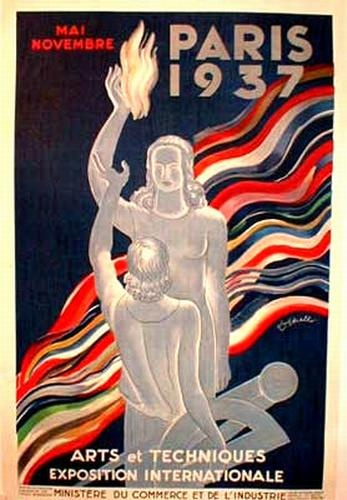 The International Exhibition of 1937 in Paris  May 4 to November 27, 1937   Poster