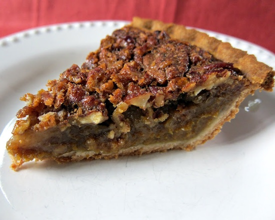 Pumpkin Pecan Pie - cant decide?  This pie does double duty
