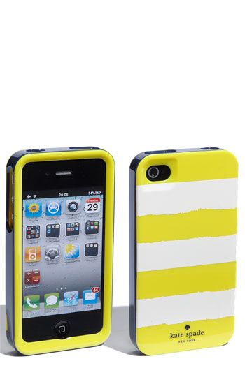 Kate Spade Rugby Stripe iPhone case