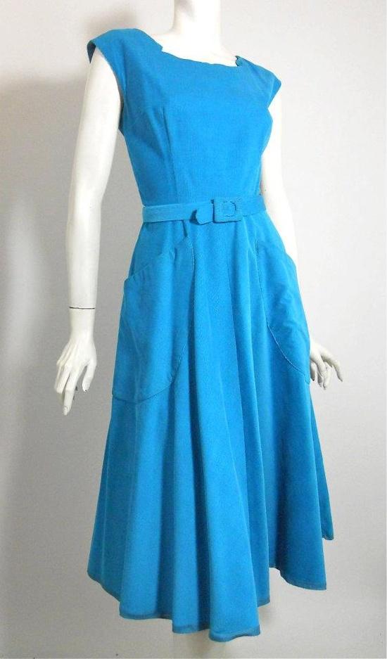 1950s dress vintage dress