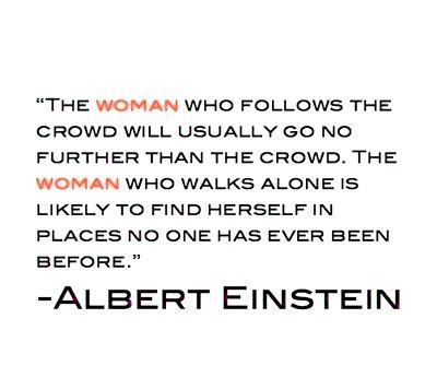 We all strive to be that woman ?