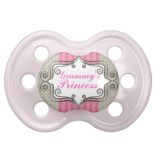 """Grammy's Princess"" Baby Girl Pacifier"