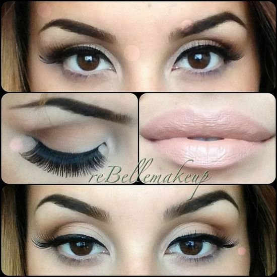 rebellemakeup | Au so natural #blush #pink #nudes Lips are OCC liptar in Trick ,