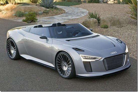 Audi e-tron Spyder Diesel-Electric Roadster