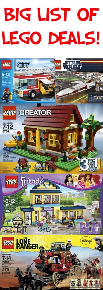 BIG List of LEGO Deals!! {stash away some fun gifts!} #legos